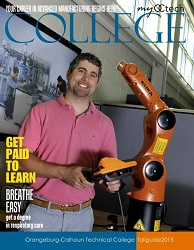 Cover with instructor with robot