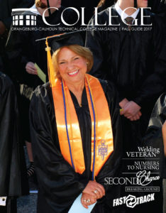 cover with older female graduate