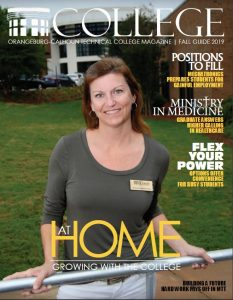 cover with a female OCtech employee