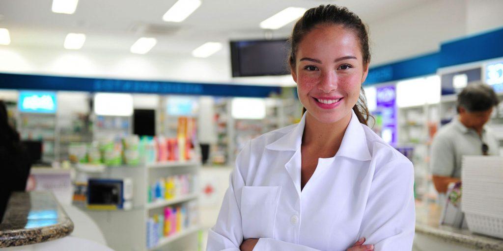 Female Pharmacy  tech